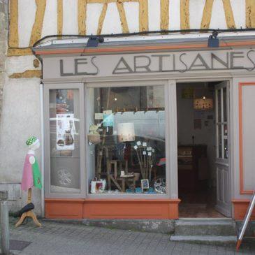 Une boutique à Vannes où me trouver : Les Artisanes